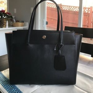 Tory Burch Parker tote black